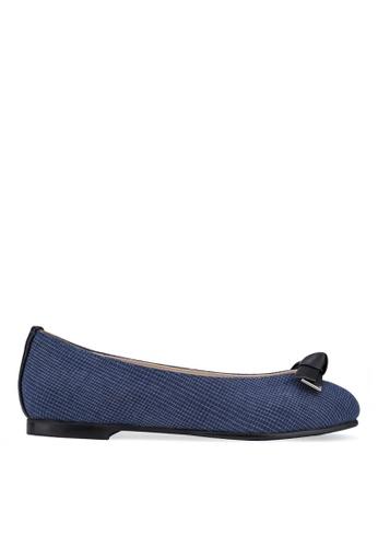 SPUR blue Knot Bow Flats SP642SH2UPYFHK_1
