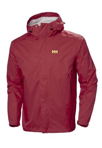 Helly Hansen red HH M Loke Jacket Syrah 5227AAAEDDD11EGS_1