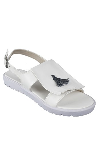 Beauty Shoes Elvina Beauty Sandal White