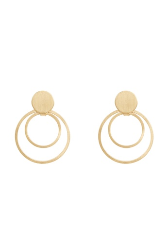 Parfois gold Geometric Earrings 75976ACE00C1ECGS_1
