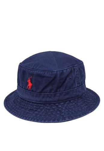 Polo Ralph Lauren navy Loft Bucket Hat C7972ACCDFF51BGS_1
