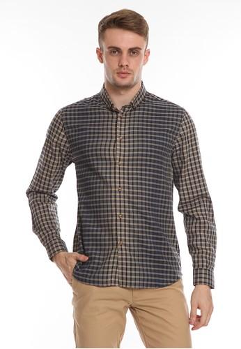 MOC brown SHIBORRY-KHAKI Shirt 6D19FAA7132C80GS_1