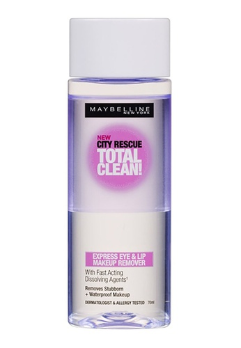 Maybelline Maybelline Clean Express Eye & Lip Make Up Remover: 70ML 0F34FBE04C11CFGS_1