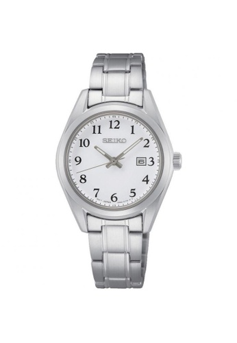 SEIKO silver SEIKO GENERAL NEO SUR465P1 CLASSIC SILVER STAINLESS STEEL WOMEN'S WATCH 2C606ACF5A07D9GS_1