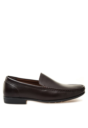 Itti brown Loafers & Moccasins IT425SH53RWSPH_1