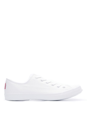 Life8 white Breathable Canvas Casual Shoes-09262-White LI283SH05JVESG_1