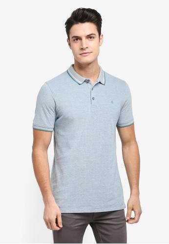 Burton Menswear London 綠色 短袖Logo刺繡POLO衫 062C0AA30D696AGS_1