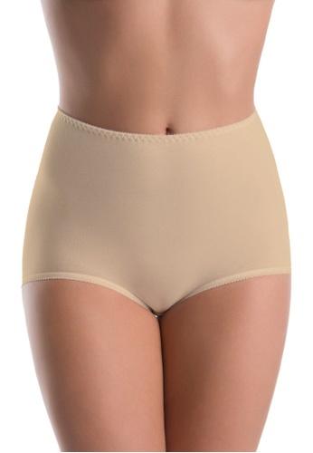 Teyli beige Women's Bamboo Panties Ori Nude 1D1ACUS218650AGS_1