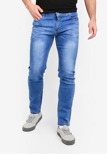Fidelio 藍色 修身牛仔褲 7200FAA361F8DDGS_1