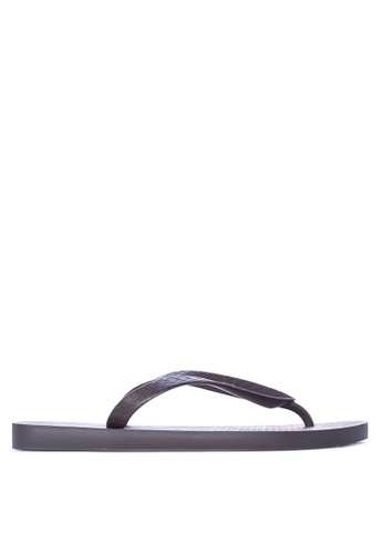 Ipanema brown Urbana Flip Flops IP498SH33IGGPH_1