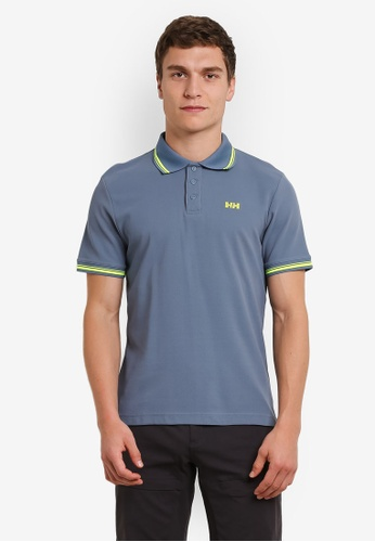Helly Hansen blue HH M KOS SS POLO BLUE MIRAGE HE448AA0FV20SG_1