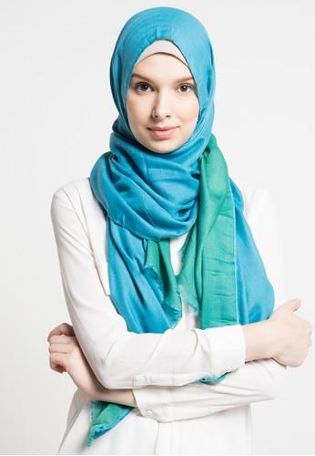 SHALIMAR blue Pashmina 2 In 1 Style SH713AA44ASLID_1