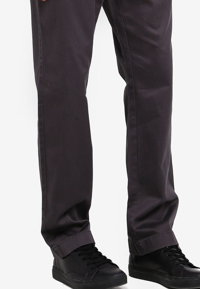 Coal Chino Stretch Crew J 1040 Grey RI1vq6Ww