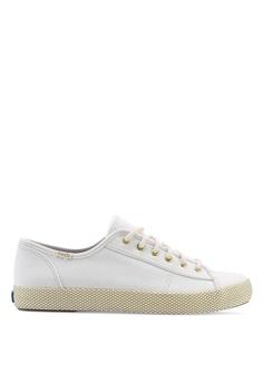 2b2f3336efb7e8 Keds beige Kickstart Mesh Foxing Sneakers 29E93SH8C27122GS 1