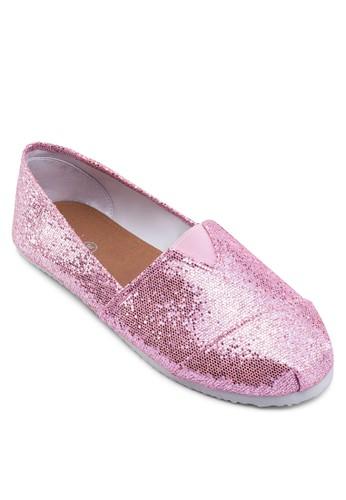 亮面閃飾懶人鞋, 女鞋zalora 順豐, 懶人鞋