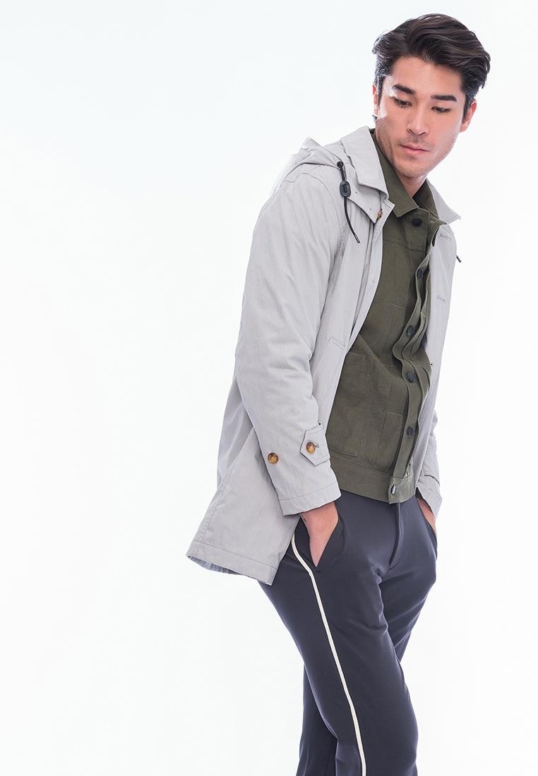 Grey Style Coat Hood Misty Alpha Detachable Carl qRUwYC
