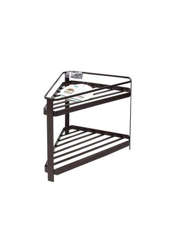 HOUZE HOUZE - 2 Tier Kitchen Corner Rack - Small 25687HL5F8F1F7GS_1