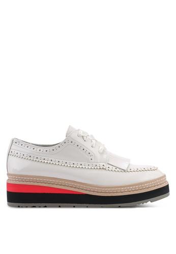 BETSY 白色 Tarnia 牛津鞋 9CB9FSH3509F90GS_1