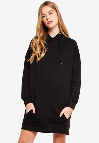 77349074723 Buy MISSGUIDED Oversized Hooded Sweater Dress Online on ZALORA Singapore