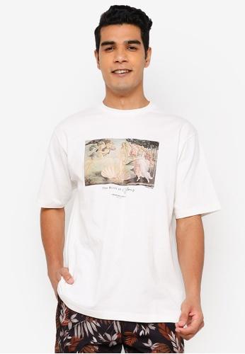 RAGEBLUE white Graphic T-Shirt 9DE33AAD49A2CCGS_1