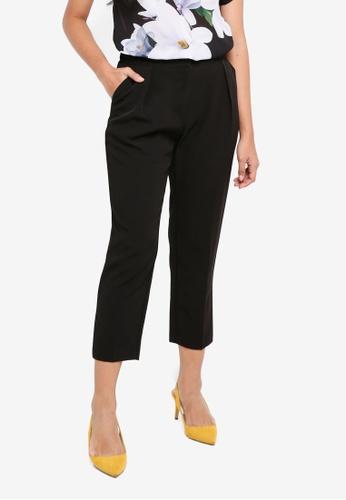 Dorothy Perkins black Petite Black Peg Trousers CE90EAA4699485GS_1