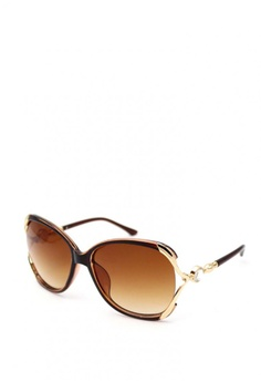 e9b29f6fcb23 Peculiar and Odd brown Premium Oversized 6016 Sunglasses Gradient Lens  5E492GL506AB07GS_1