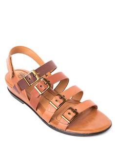 Sapphire Flat Sandals