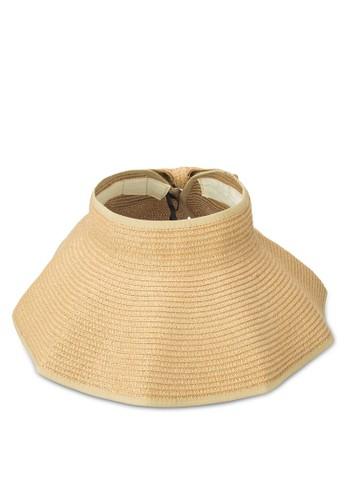 經典可esprit 香港 outlet卷折疊蝴蝶結草帽, 飾品配件, 爵士帽