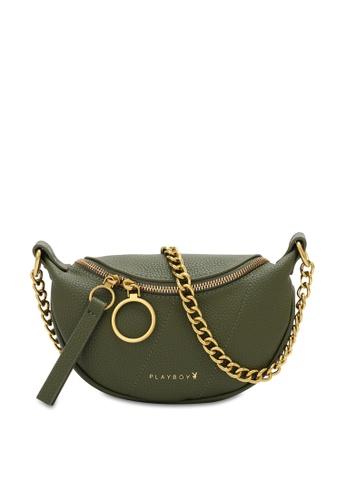 PLAYBOY BUNNY 綠色 Mini Sling Bag 4EE7BACEB1E65CGS_1