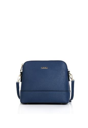 Della Stella navy Luna Mini Bag C5235AC8EA9992GS_1