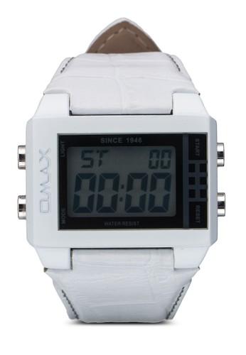 OAS0512WH 仿皮電子手錶, 錶類esprit門市地址, 其它錶帶