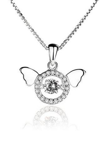 LYCKA silver LPP88039 S925 Silver Necklace B34C8ACF1C07B4GS_1