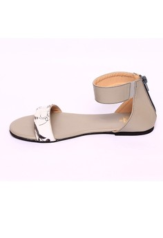Grey Malvina Open Toe