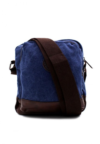 d55aa7f161 Attraxion Men s and Accessories blue Attraxion Jian 1013-14 Canvas  Messenger Bag for Men ADFE3AC775860AGS 1