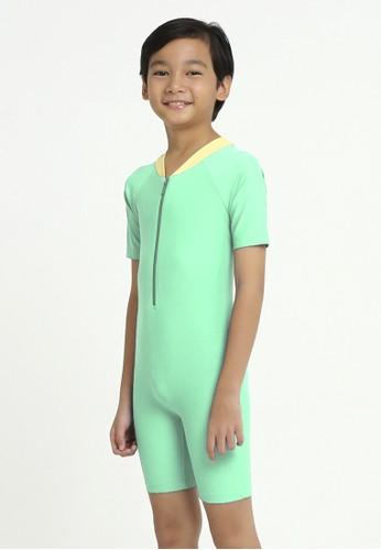 Lee Vierra green Basic Diving Kids Unisex 4C568KABF9AFC7GS_1