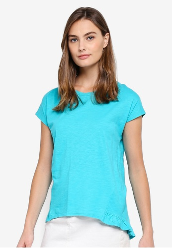 ESPRIT green Short Sleeve T-Shirt 2DE74AA97BB24AGS_1
