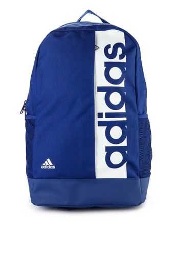 adidas blue adidas linear performance backpack 0A1C4ACFB6A135GS_1