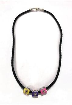 Kasaros Multi-colored Camera Necklace