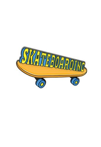 Kings Collection green Skateboard Enamel Pins (KCPN1138) 46D97AC490B8B8GS_1
