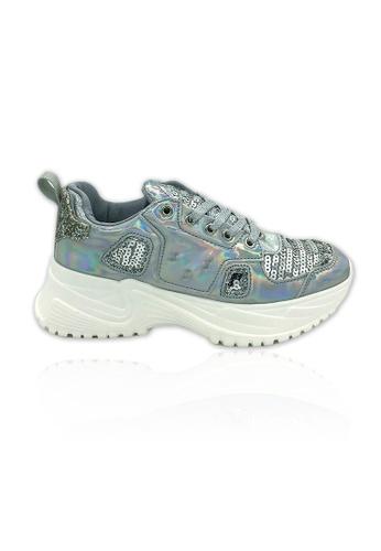 Unifit silver Embelishment Chunky Sneaker 2BDB6SH436AE32GS_1