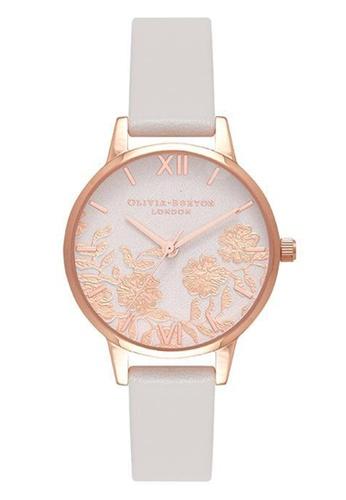 Olivia Burton gold LACE DETAIL Rose-Gold 30 mm Women's Watch 83990AC48F9937GS_1