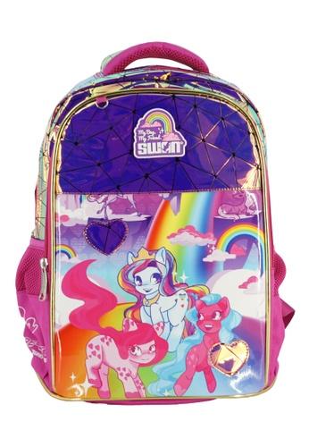Swan pink Swan Smile Victor 2 (Pony) Primary School Bag 19CFCKCF57C223GS_1
