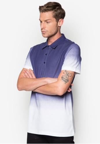 zalora時尚購物網評價漸層POLO 衫, 服飾, Polo衫