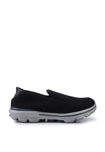 UniqTee 黑色 Lightweight Slip-On Sport Sneakers 82AB9SH86209F1GS_1