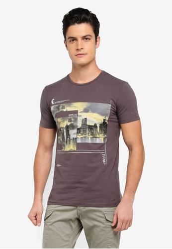 ESPRIT grey Short Sleeve T-Shirt E4C30AA9BC083DGS_1