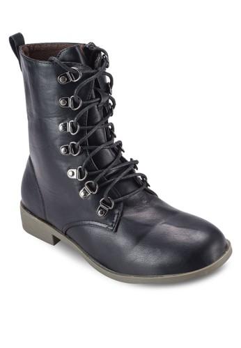 繫帶高筒靴,esprit台北門市 女鞋, 鞋
