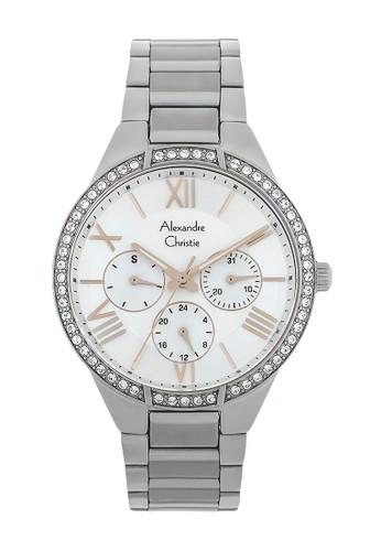 Alexandre Christie silver Alexandre Christie Jam Tangan Wanita - Silver - Stainless Steel - 2718 BFBSSSL 2D962ACF391D07GS_1