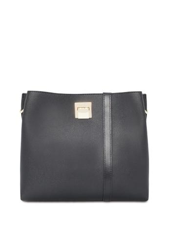 VINCCI black Hobo Bag 46A5AACD76A893GS_1