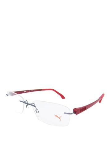 Puma Eyewear red Puma Frame Kacamata Baca Rimless - 15451 - 52 - Red  05771GLDB2426EGS 1 5ed6c7168f