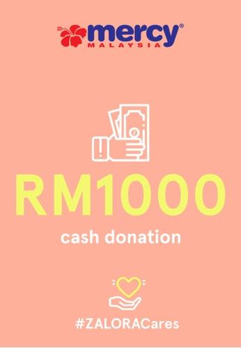 #ZALORACares MERCY Malaysia - Donation to fight COVID-19 (RM1000) 5992BAC38FA653GS_1